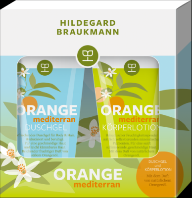 ORANGE MEDITERRAN SET, 150ml/150ml