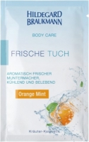 HILDEGARD BRAUKMANN BODY CARE Frische Tücher Orange Mint, 10 Stück